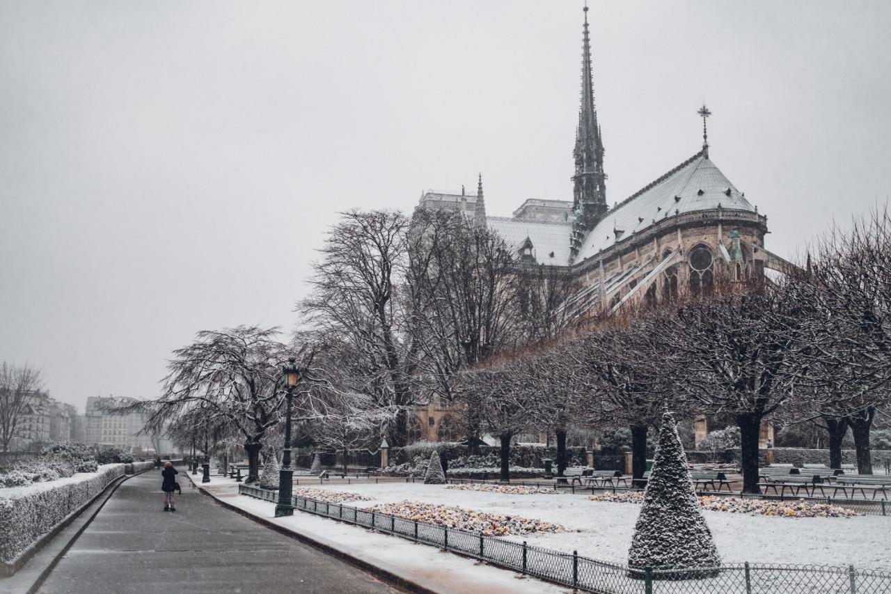 Notre-Dame Terbakar, 500 Petugas Memadamkan Api