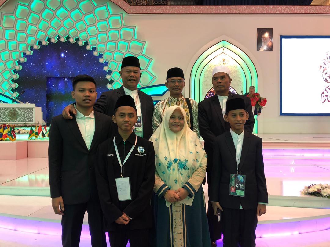 Qori Indonesia Juara Pertama MTQ Internasional di Iran