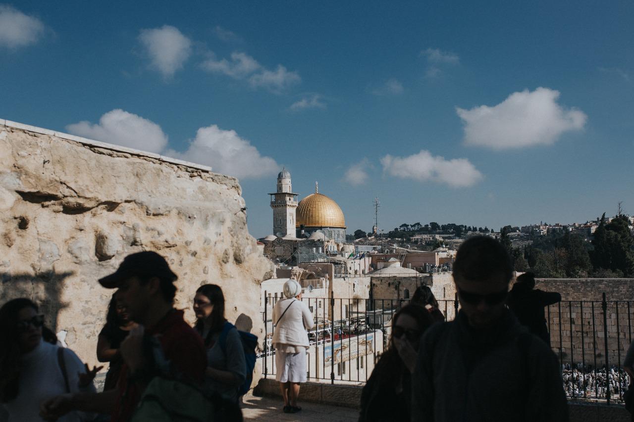 Ruang Doa di Masjid Al-Aqsa Terbakar