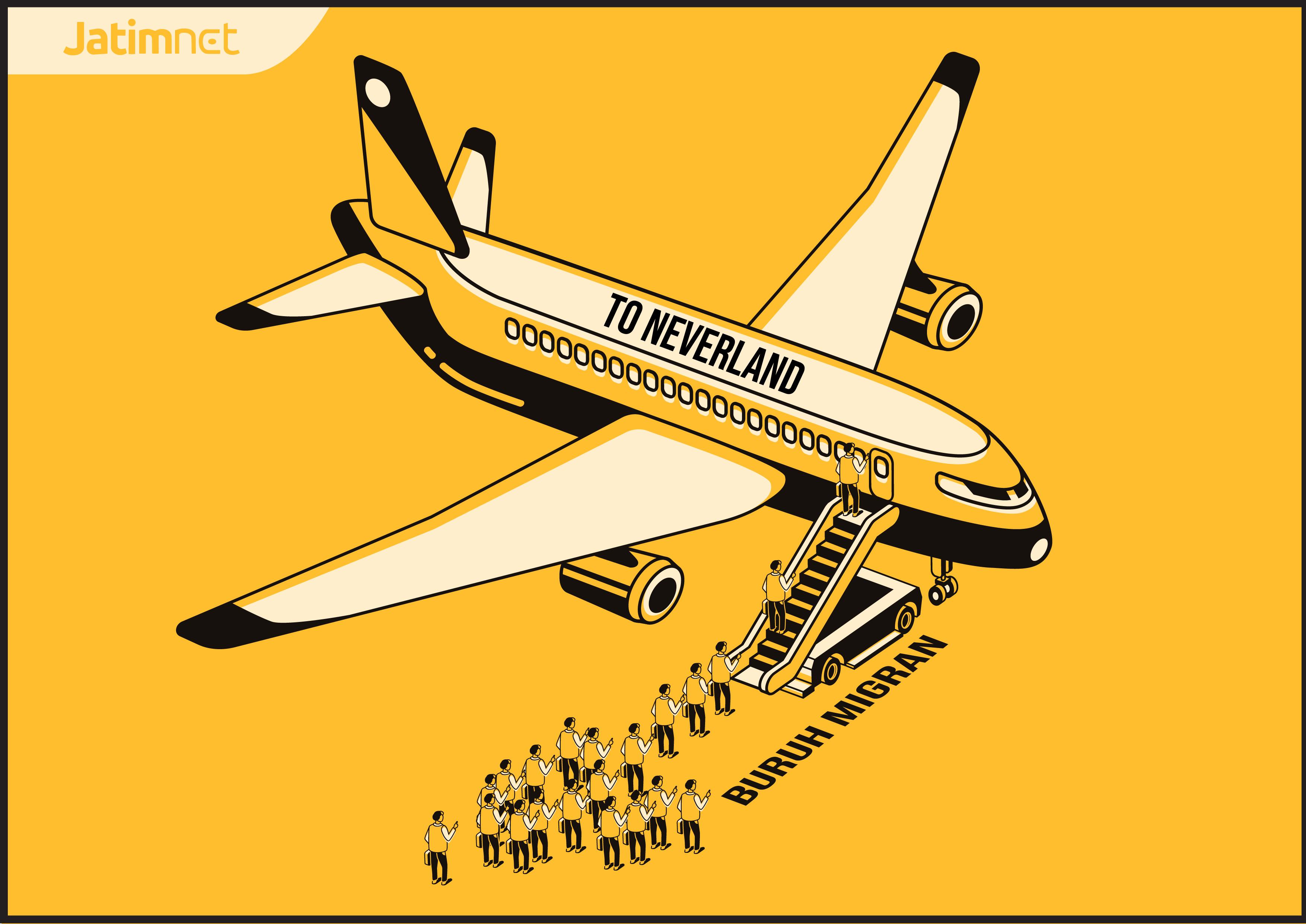 Tetap Terbang Meski Dilarang