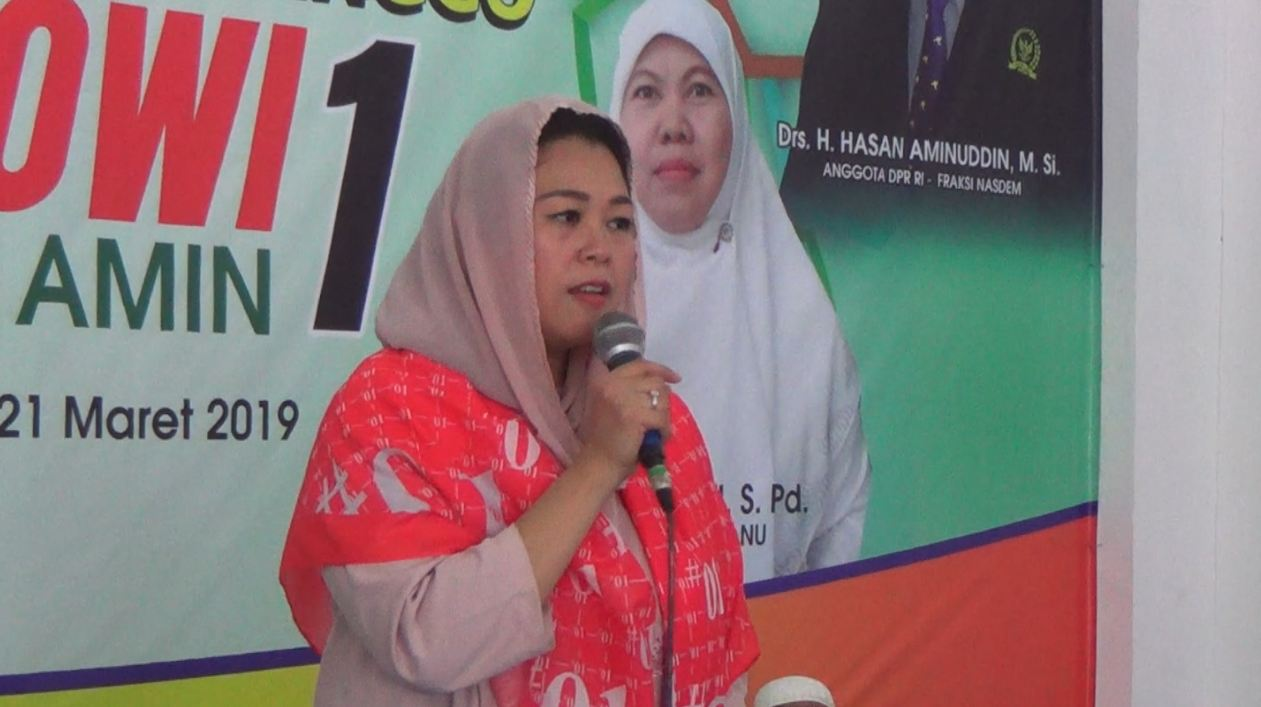 Yeny Wahid Ajak Perempuan Nahdlliyin Probolinggo Pilih Capres 01