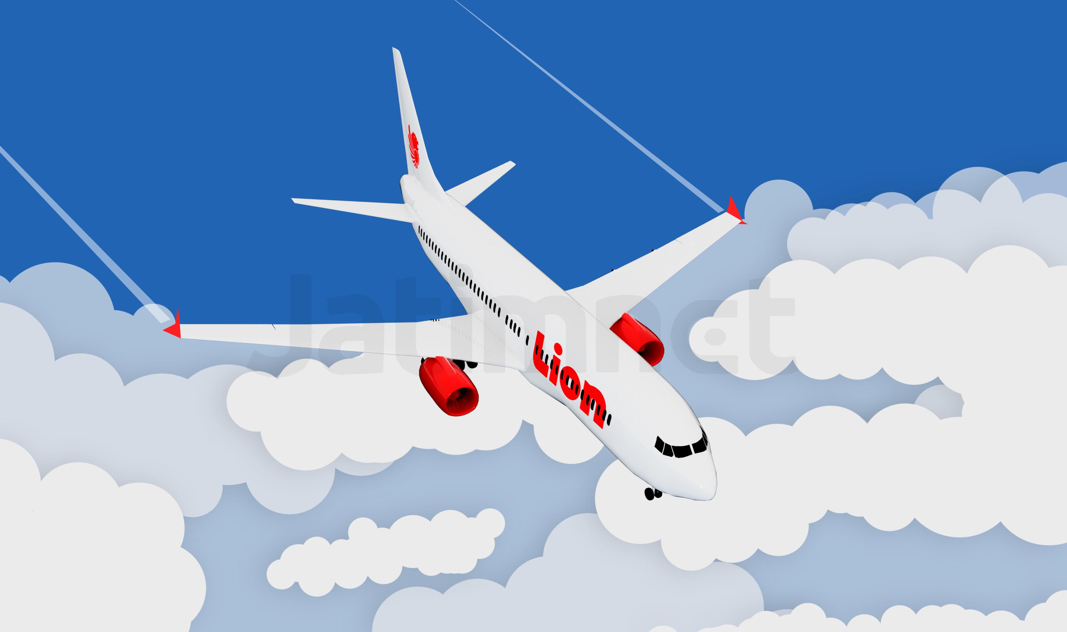 Begini Situasi Kokpit Pesawat Lion Air JT610 Sebelum Jatuh