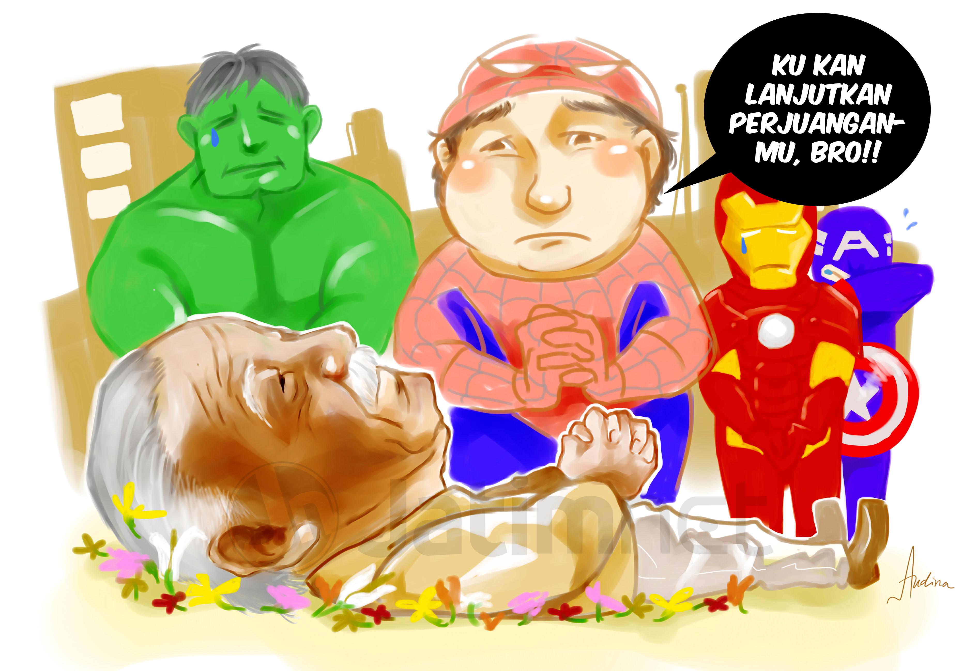 Siapa Mau Jadi Superhero?