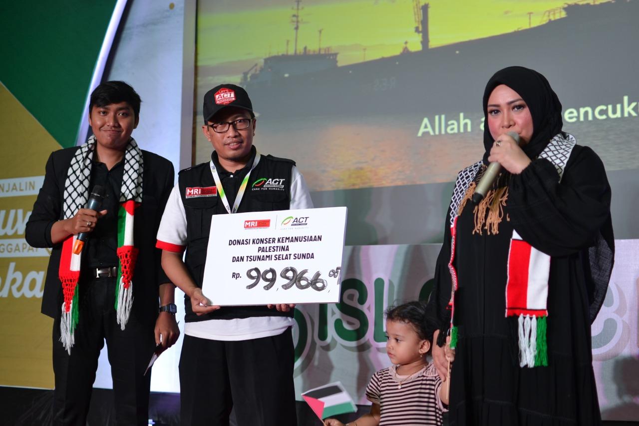 ACT Gelar Konser Kemanusiaan bersama Melly Goeslaw