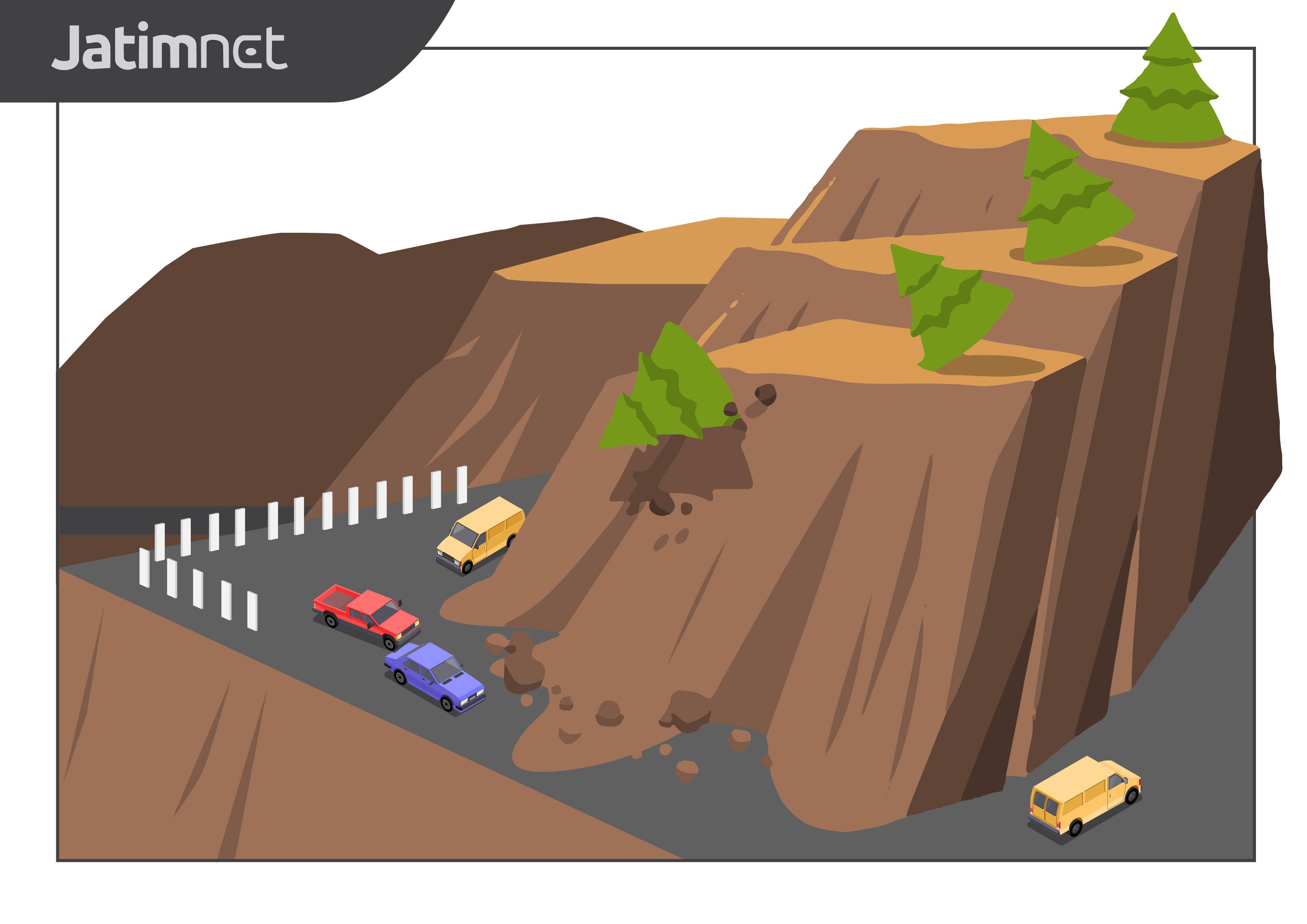 Tebing Piket Nol Longsor, Jalur Selatan Lumajang-Malang Ditutup