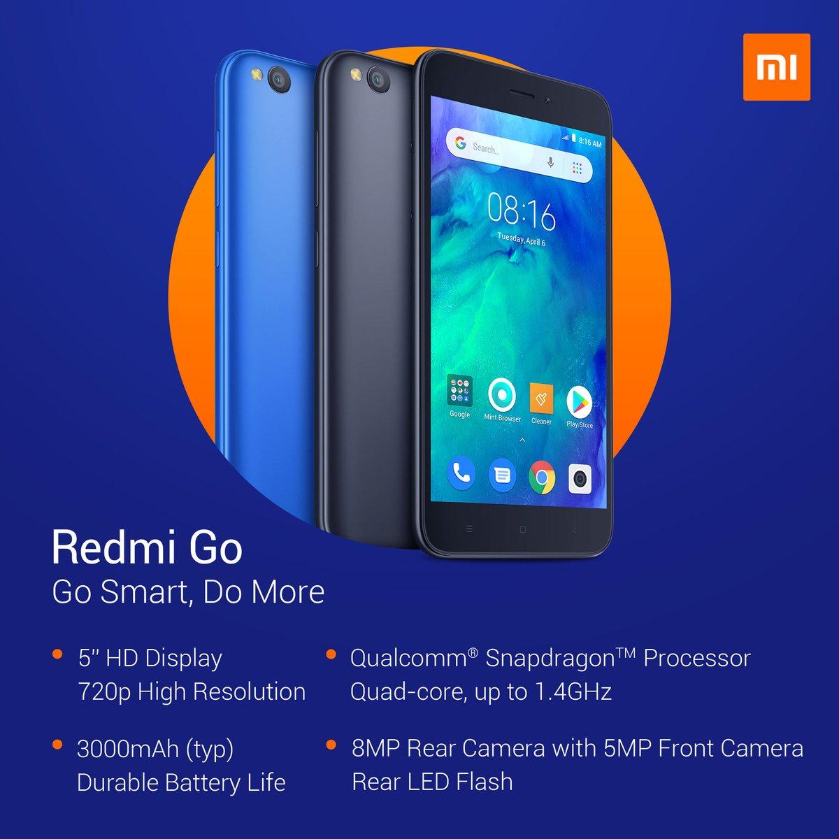Pakai Android Go, Xiaomi RedmiGo Dijual Rp 899 Ribu