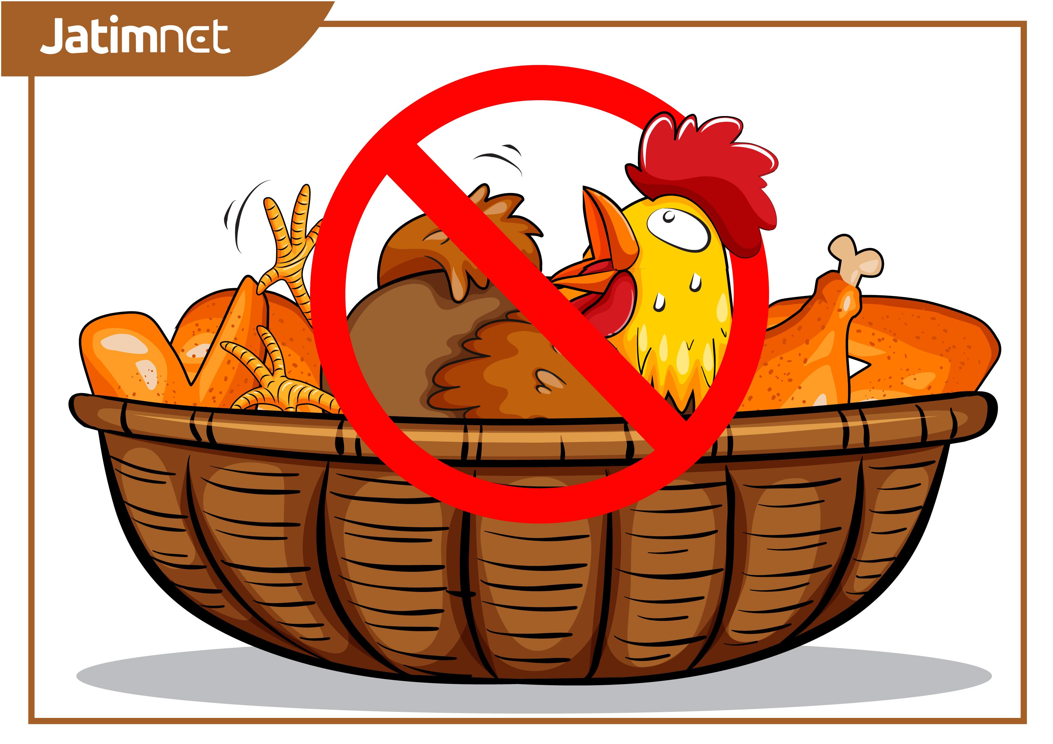 Pemkot Kaji Kemungkinan Perda Larangan Ayam Hidup Masuk Pasar