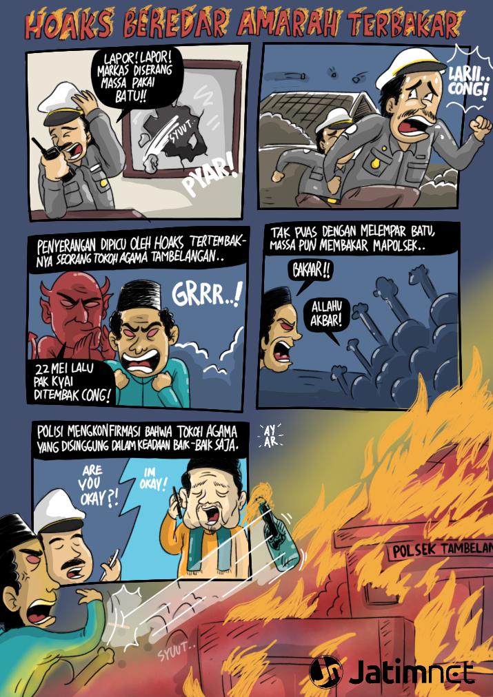 hoaks-beredar-kantor-polsek-terbakar