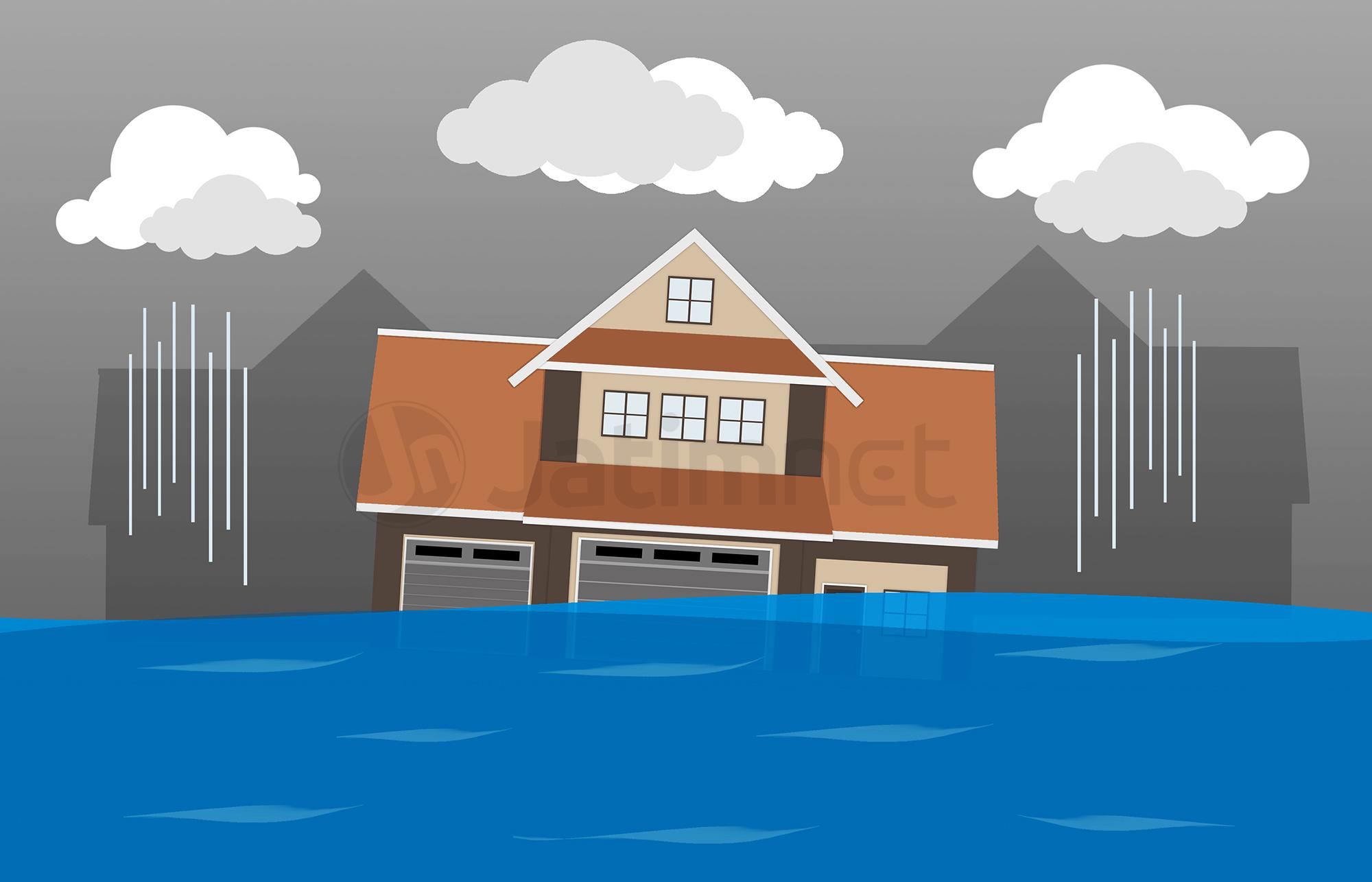 Bekasi Dilanda Banjir, 72 Rumah Terendam