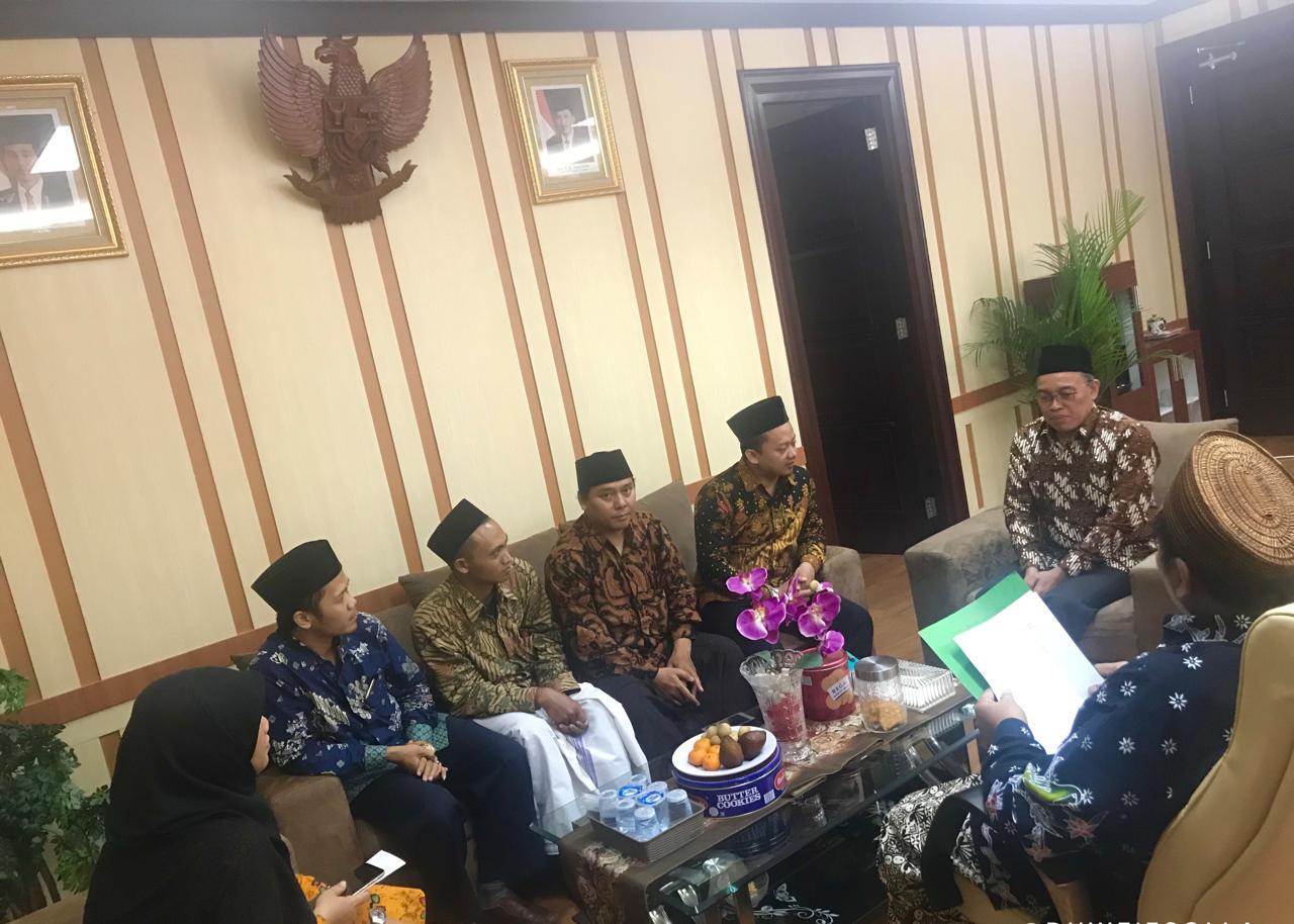 PDPontren Kemenag Terima Kunjungan FK-PKPS