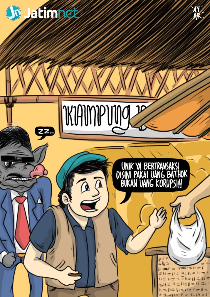 Tidak Pakai Sogok di Pasar Batok