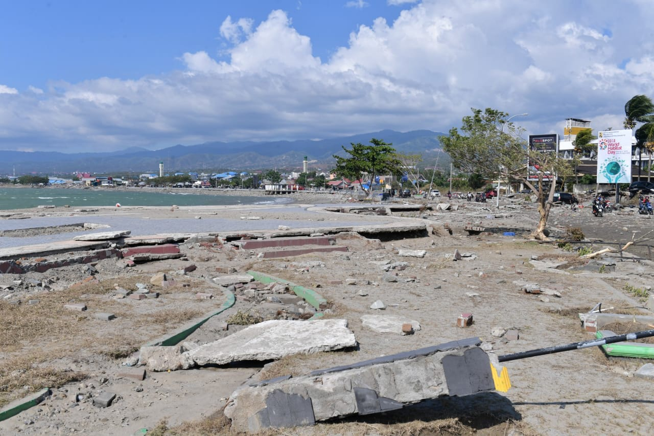 Pengungsi Bencana Palu Tolak Relokasi