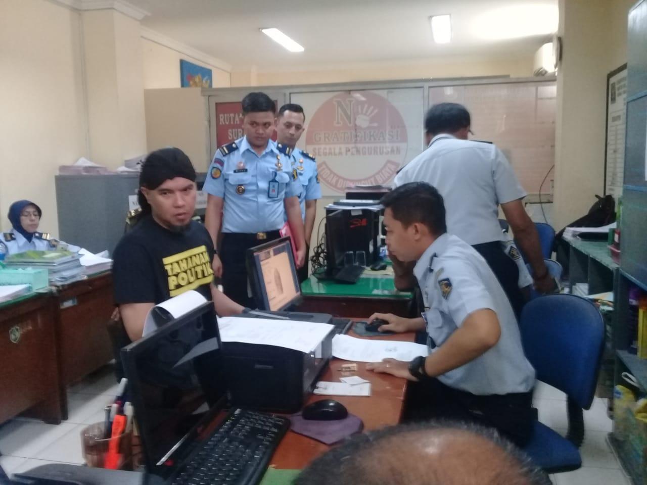 Ahmad Dhani Harus Jalani Masa Pengenalan di Rutan Medaeng