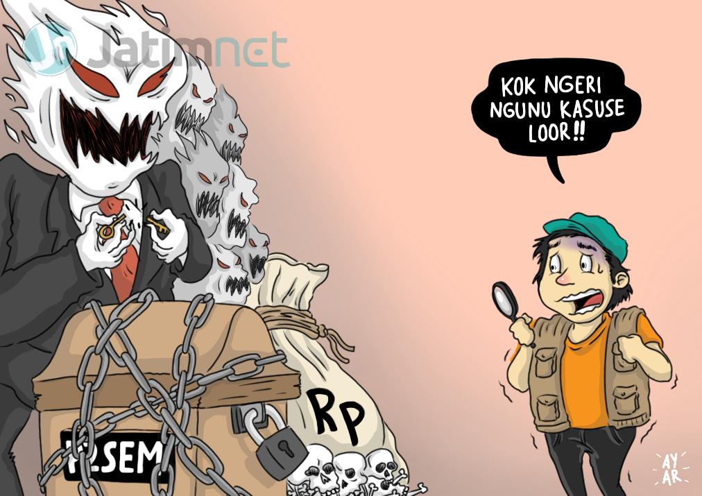 Kejati Jatim Pesimis Lanjutkan Kasus Korupsi P2SEM