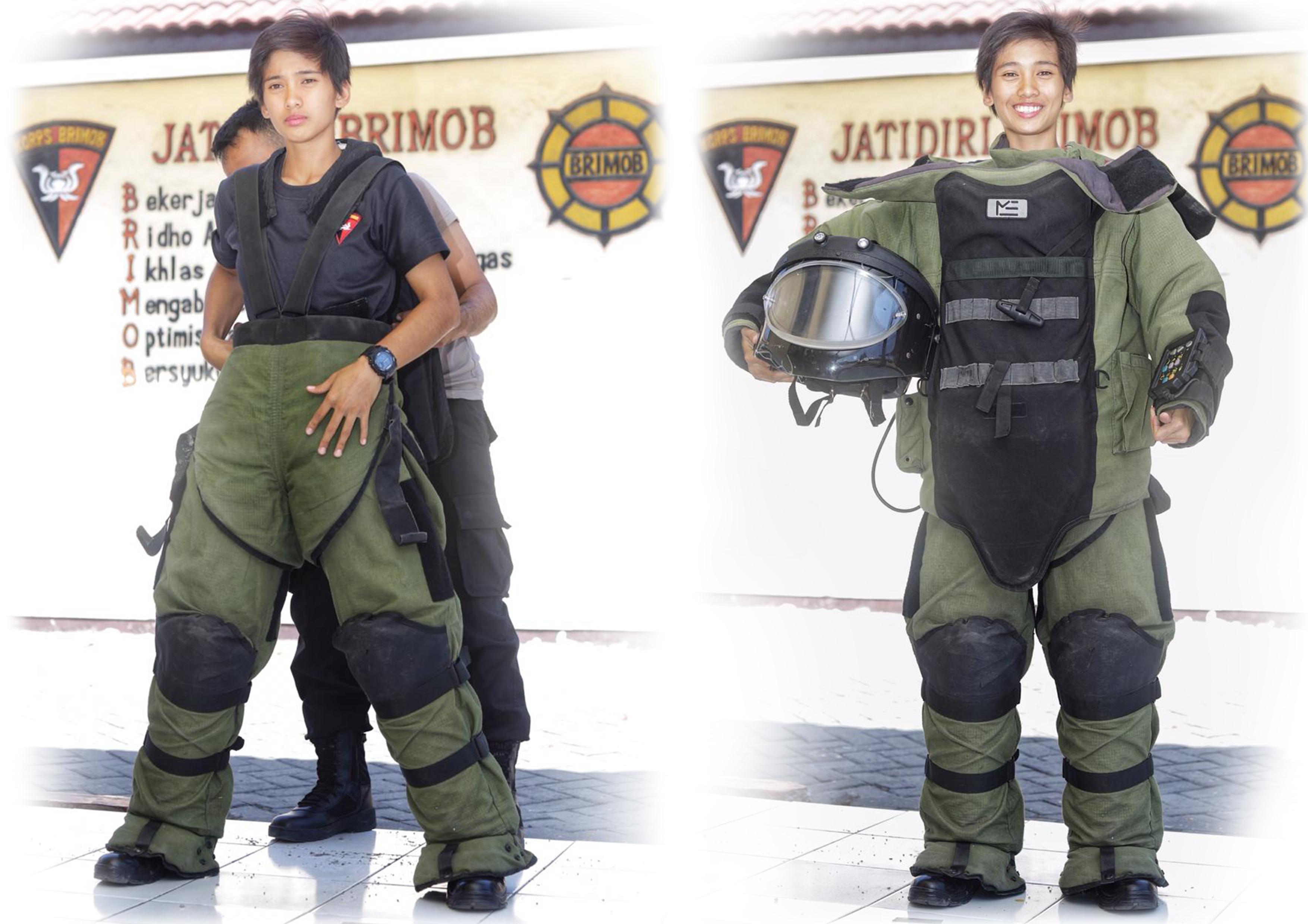 Ima, Gegana Perempuan Penjinak Bom