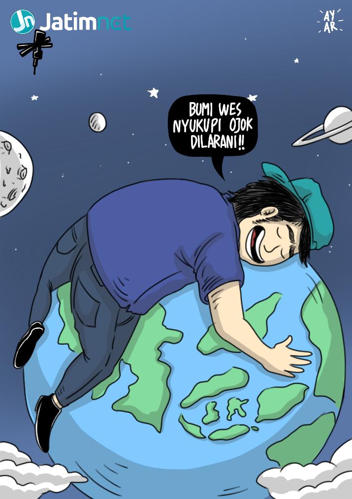 Selamat Hari Bumi <em>Cak!</em>