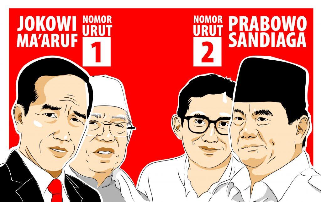 Jokowi-Ma'ruf Singgung Penyelesaian MasalahHAMMasa Lalu