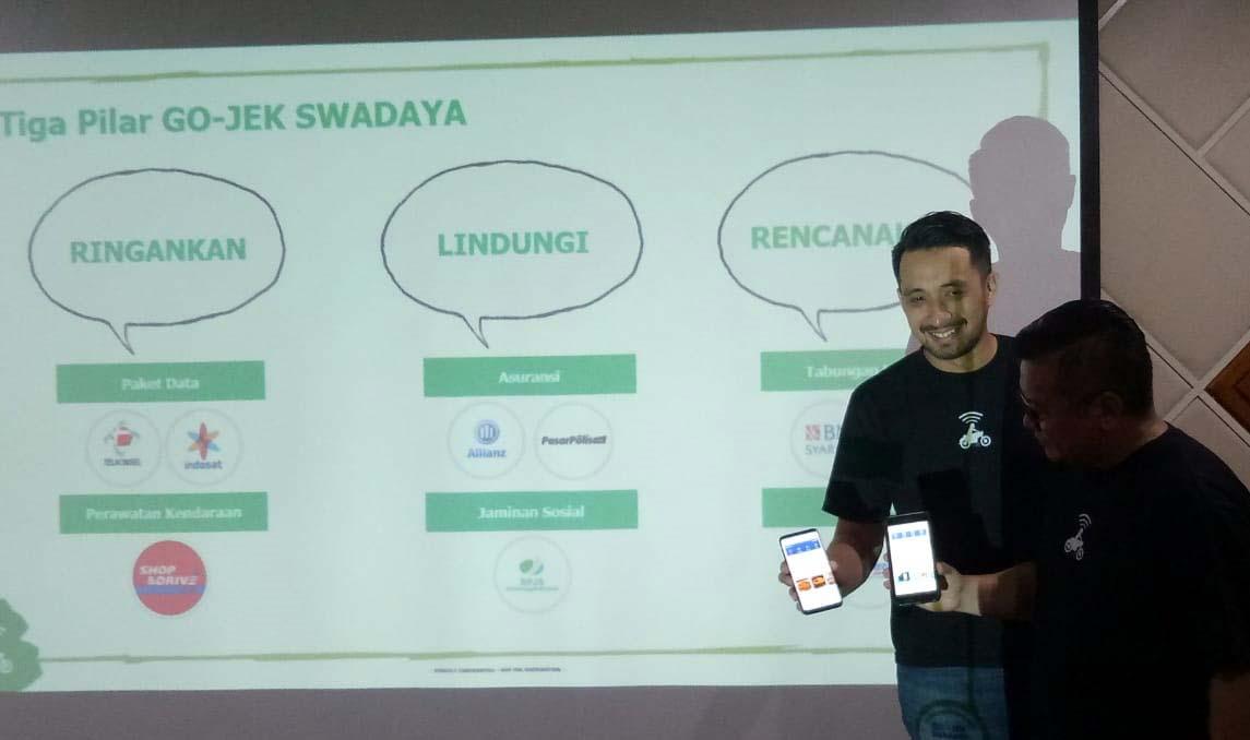 Gojek Kenalkan Program Gojek Swadaya