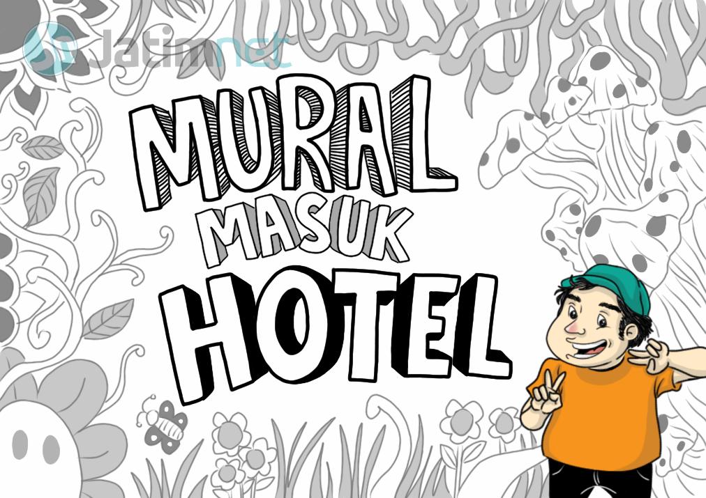 Mural Masuk Hotel