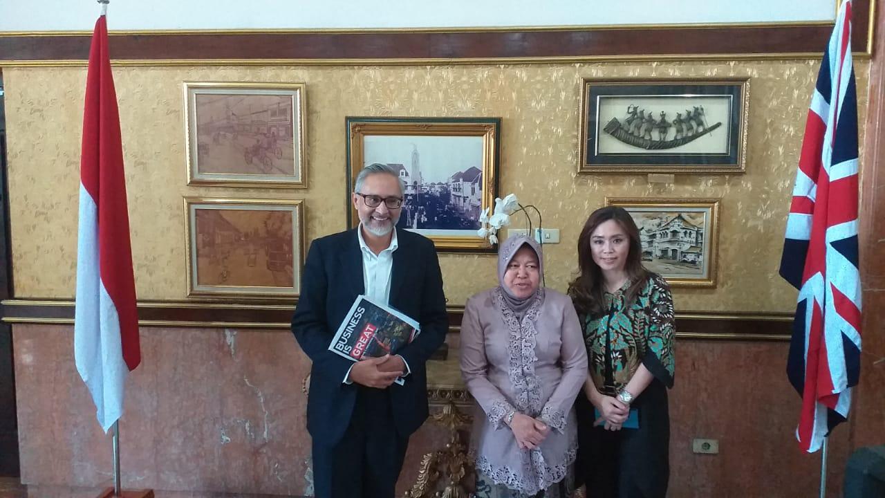 Inggris Gandeng Surabaya Sediakan Laman Gratis Belajar Bahasa Inggris
