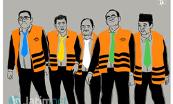 Lima Ketua Umum Parpol Terlibat Korupsi