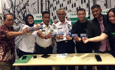 Penumpang Bus Patas Surabaya-Malang Bisa Bayar Pakai Uang Elektronik