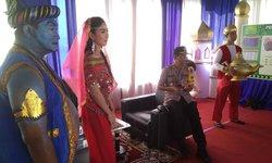 film-aladdin-jadi-tema-pos-pelayanan-di-rest-area-tol-ngawi