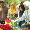 Anak-anak Yatim di Tulungagung Kampanye Gemar Makan Ikan