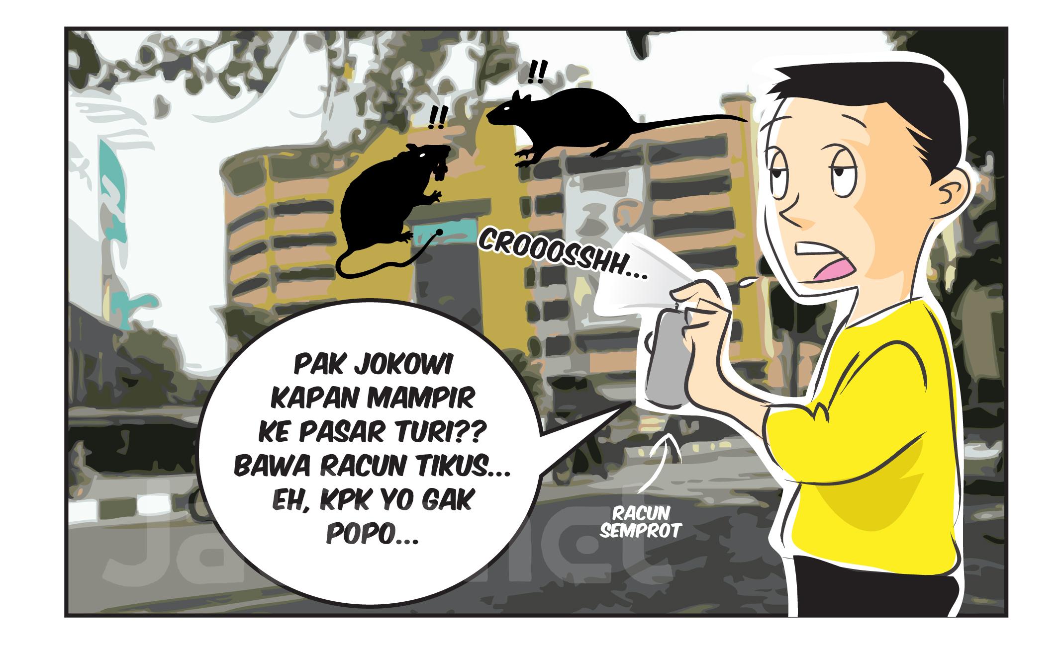 Kapan Jokowi Mampir Pasar Turi