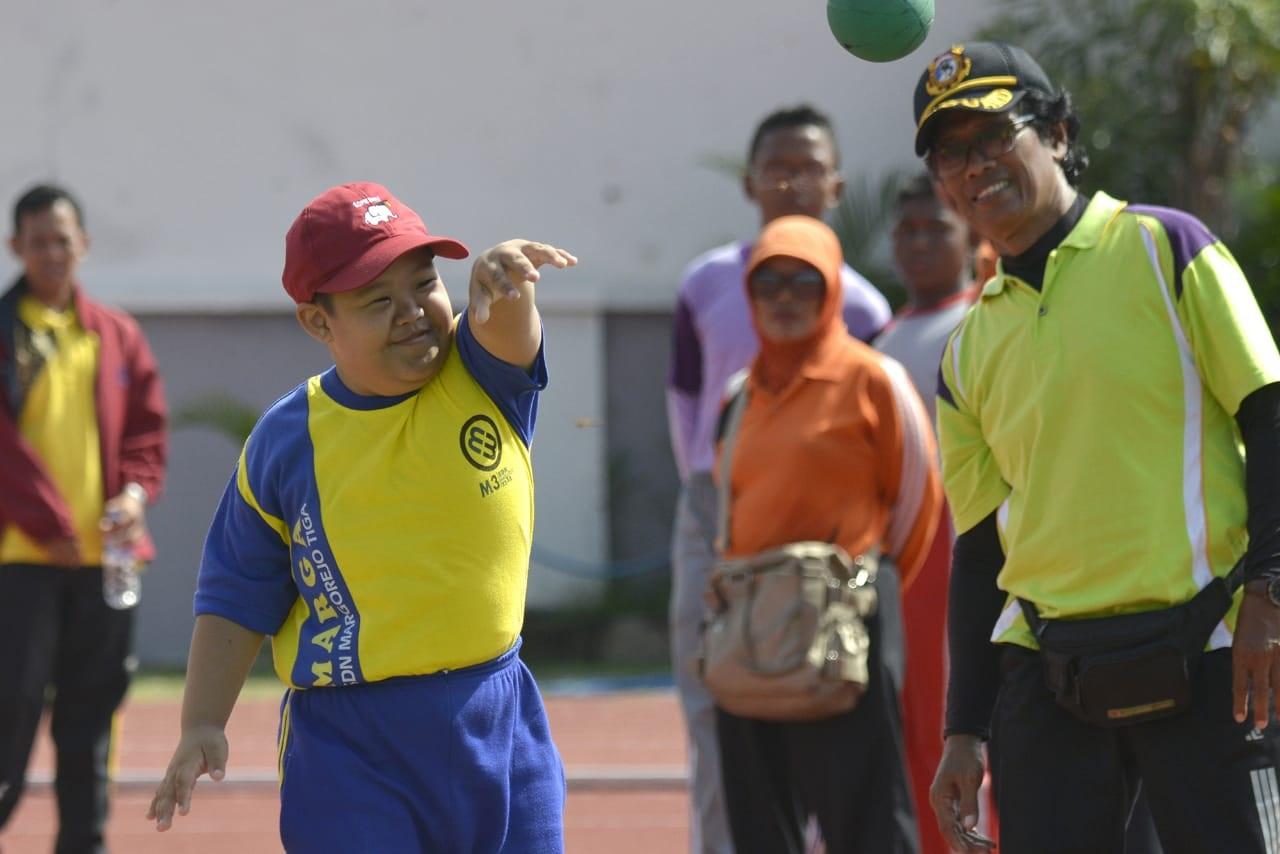 Dispora Surabaya Gelar Kejuaraan untuk Anak Berkebutuhan Khusus