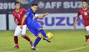 AFF 2018, Indonesia Dibekuk Thailand 2-4 di Bangkok