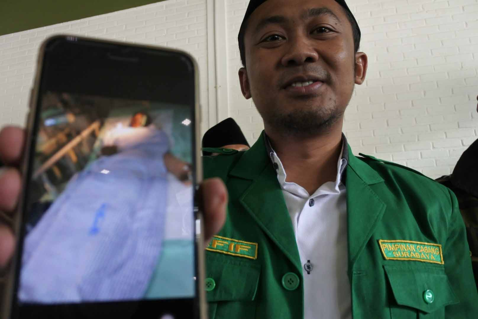 GP Ansor Surabaya Minta Polisi Ungkap Dalang Pembacokan