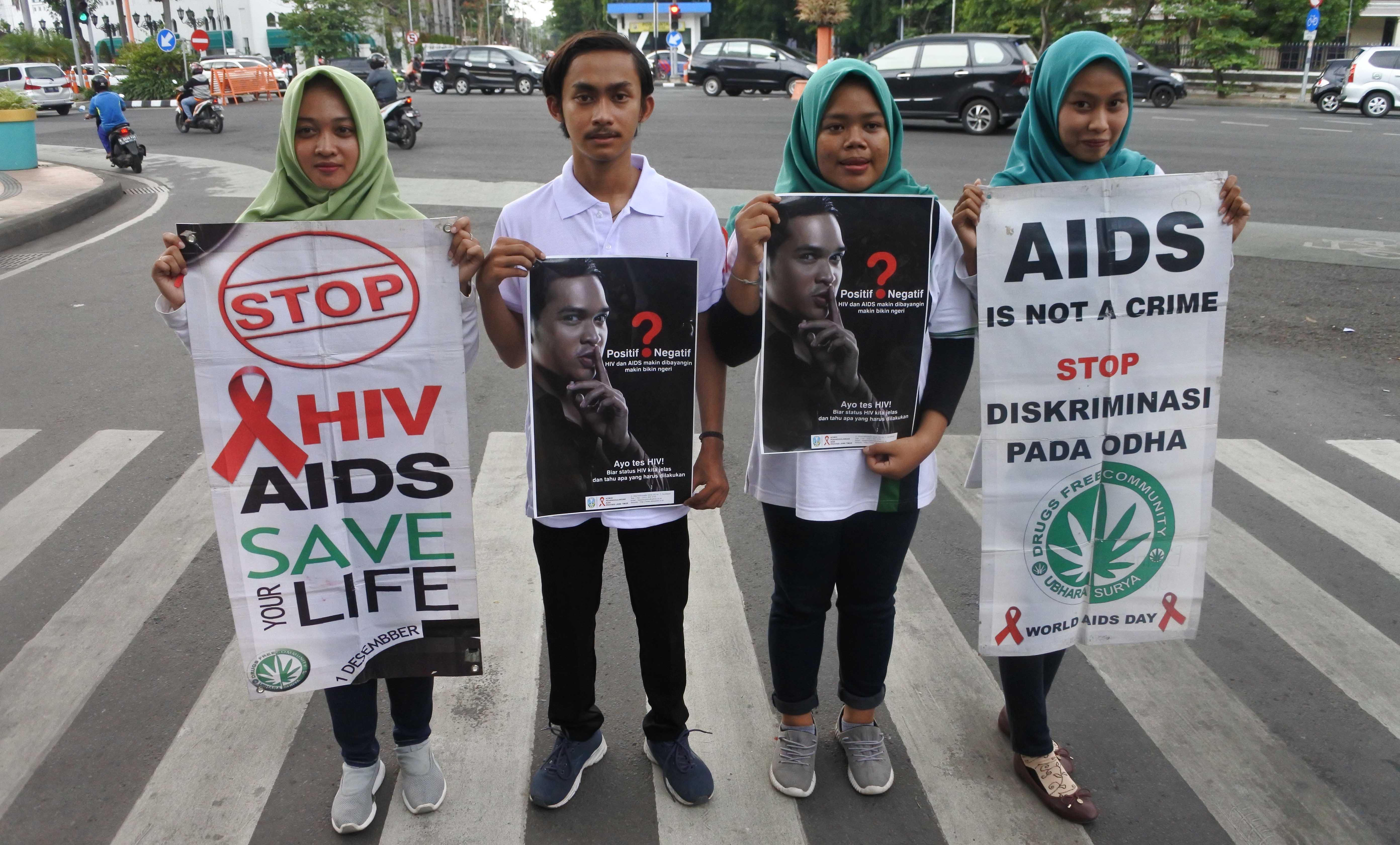 Mahasiswa: Stop Diskriminasi terhadap ODHA