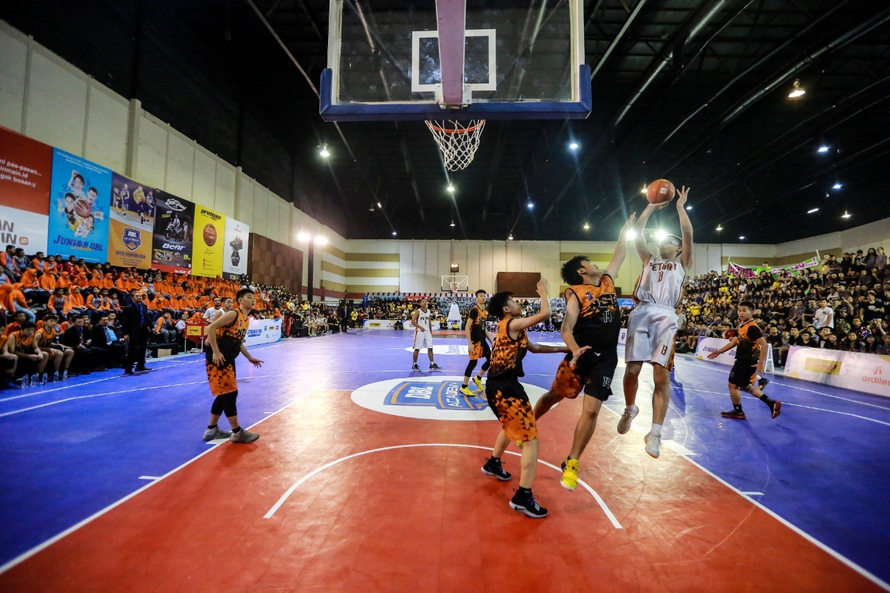 Lokasi Liga Basket Junior DBL Pindah ke Mall