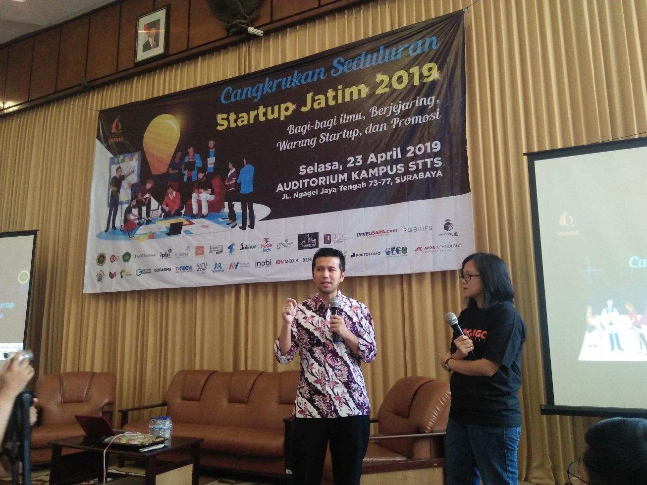 Emil Dorong Milenial Perbanyak Startup untuk Kembangkan SDM Jatim