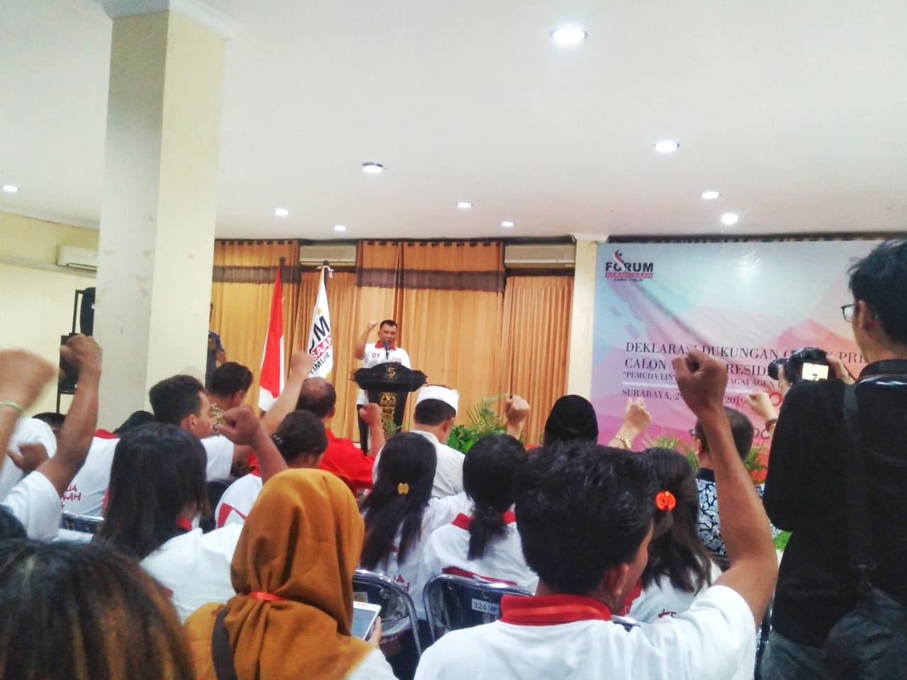 FKJ Deklarasikan Dukungan untuk Jokowi-Amin