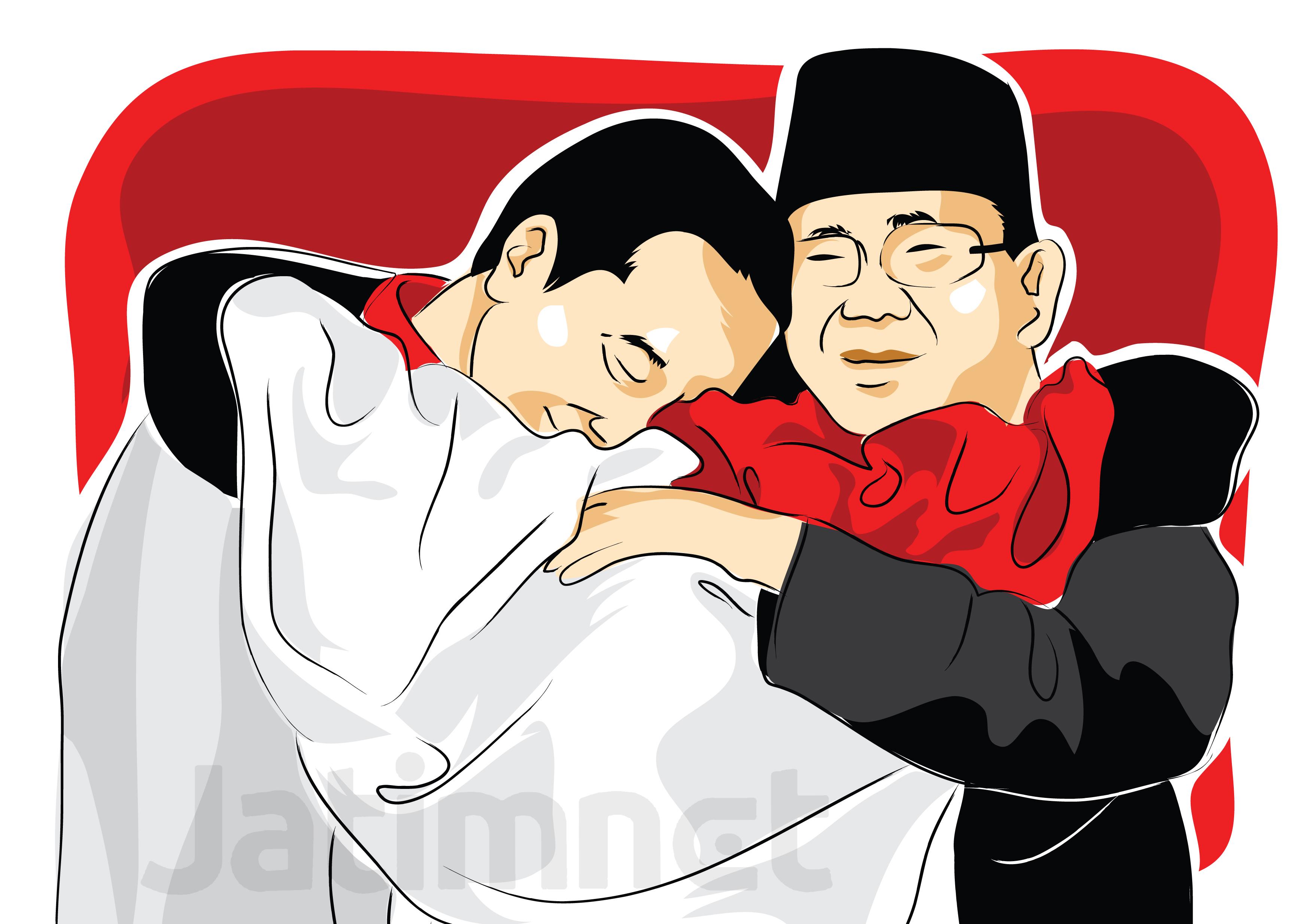 Begini Rencana Kampanye Akbar Jokowi dan Prabowo di Jatim