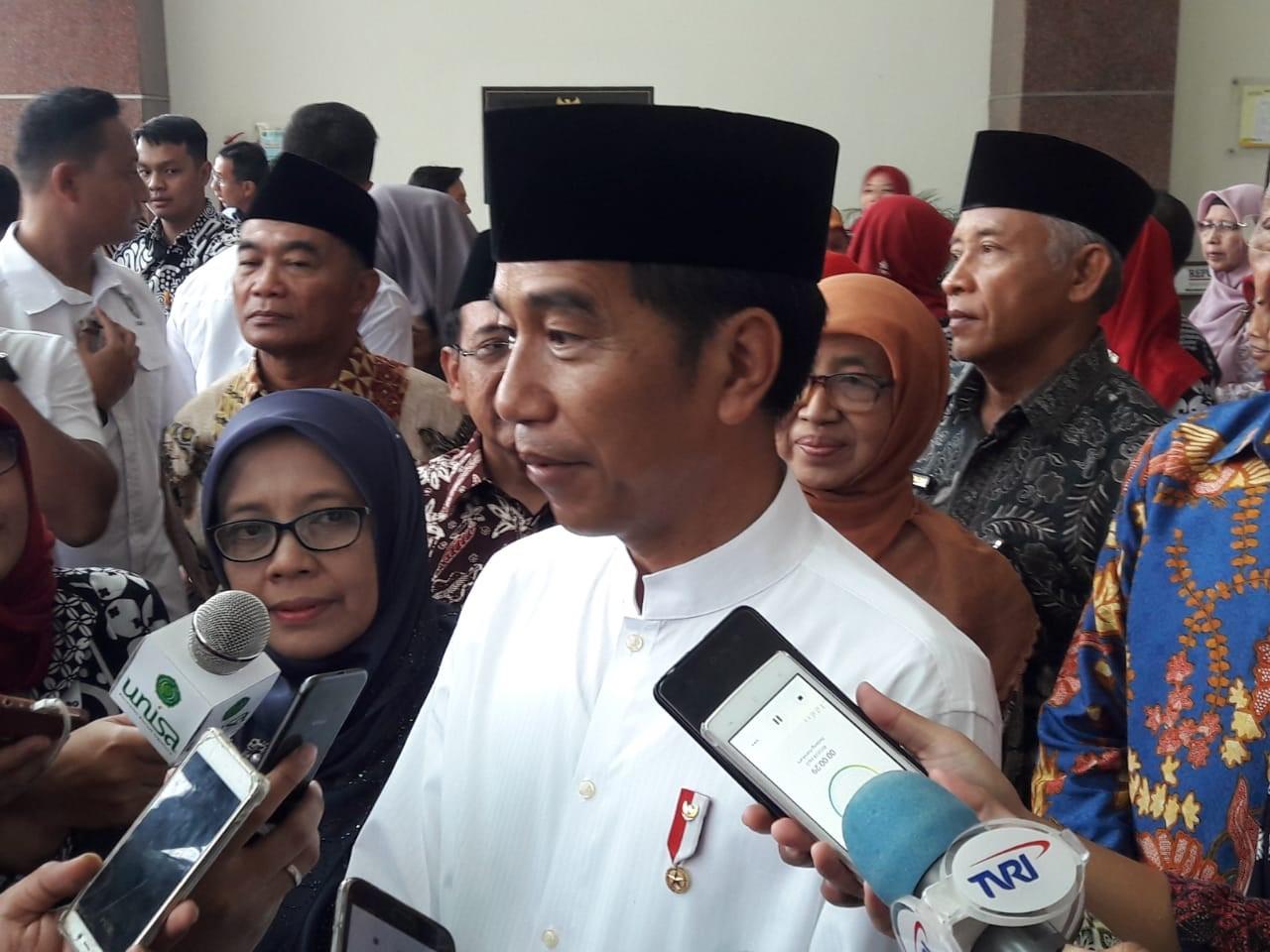 Ganti Strategi di 2019, Jokowi: Fokus Membangun SDM