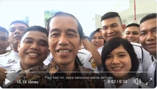 Buka Konferensi Jasa Pengamanan, Jokowi: Jadi Satpam Tak Mudah