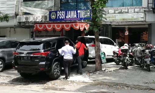 Satgas Anti Mafia Bola Geledah PSSI Jawa Timur