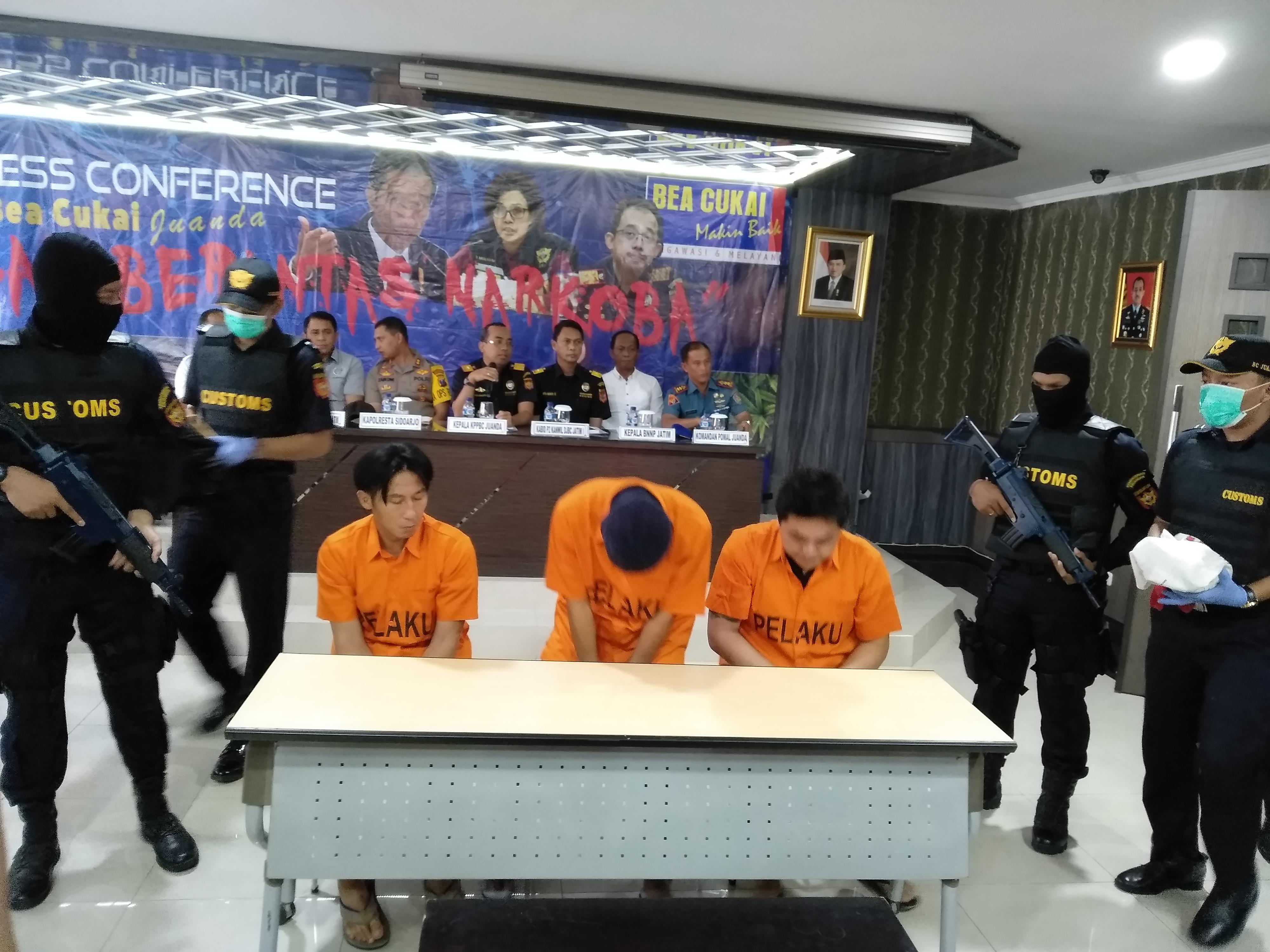 Narkoba dari Ethiopia Digagalkan di Bandara Juanda