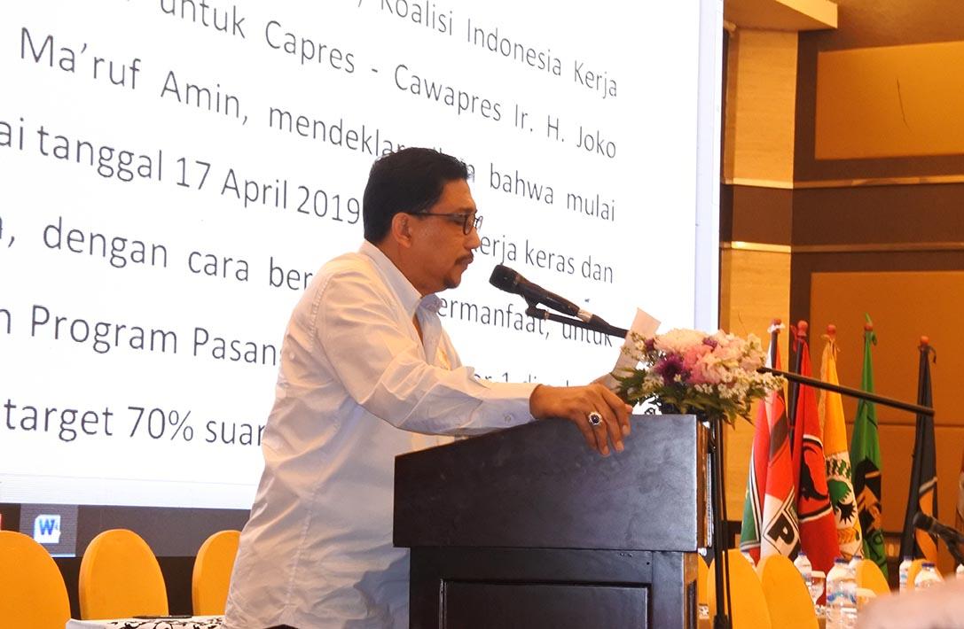 TKD Jokowi-Ma'ruf Amin Komitmen Kampanye Elegan