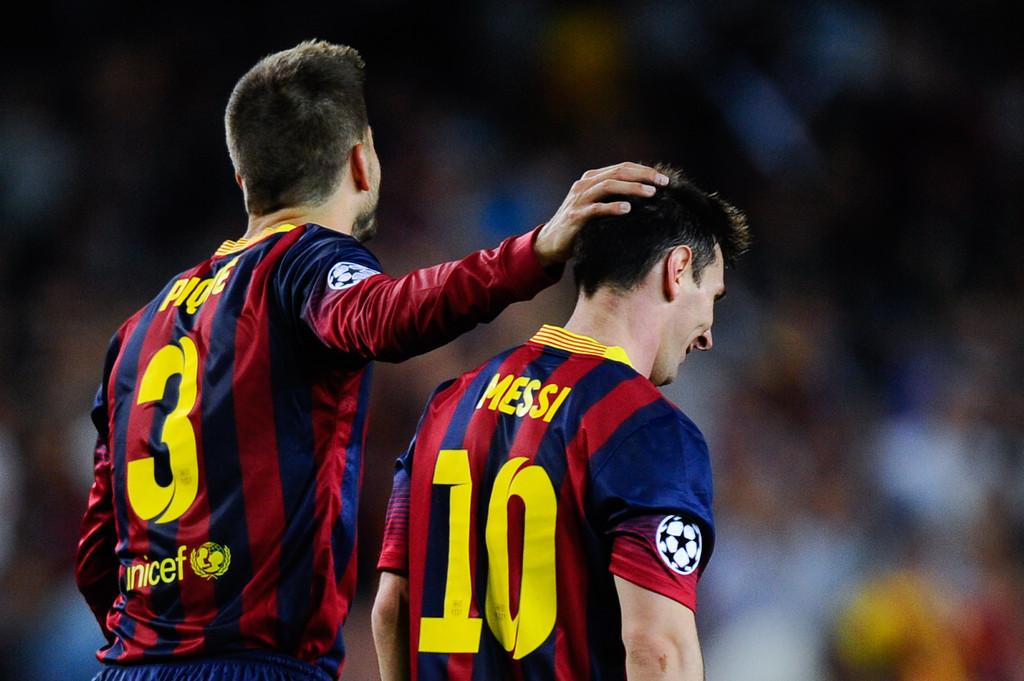 Pique Ungkap Keterlibatan Messi dalam Piala Davis