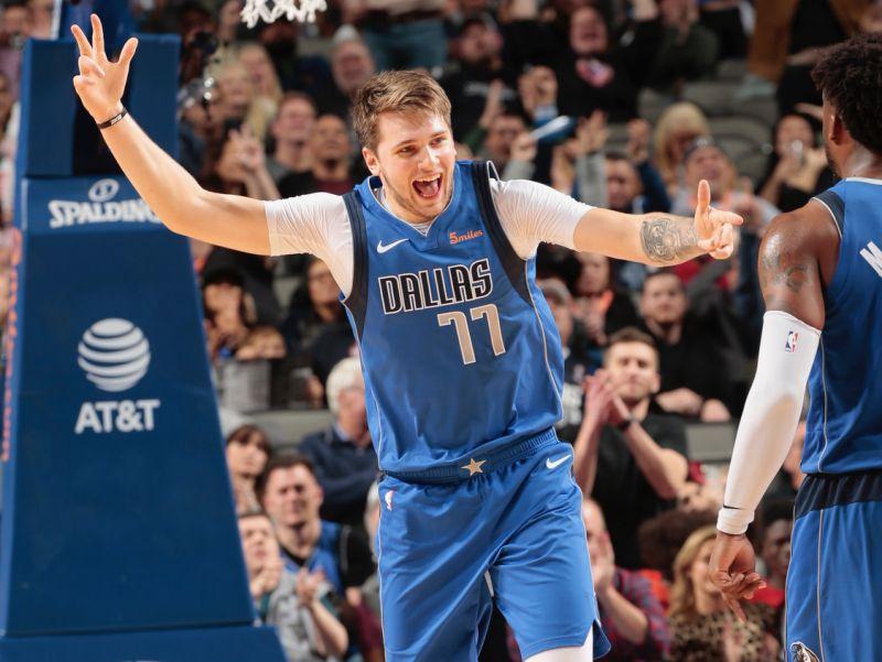 Doncic Bintang Kemenangan Dallas Mavericks