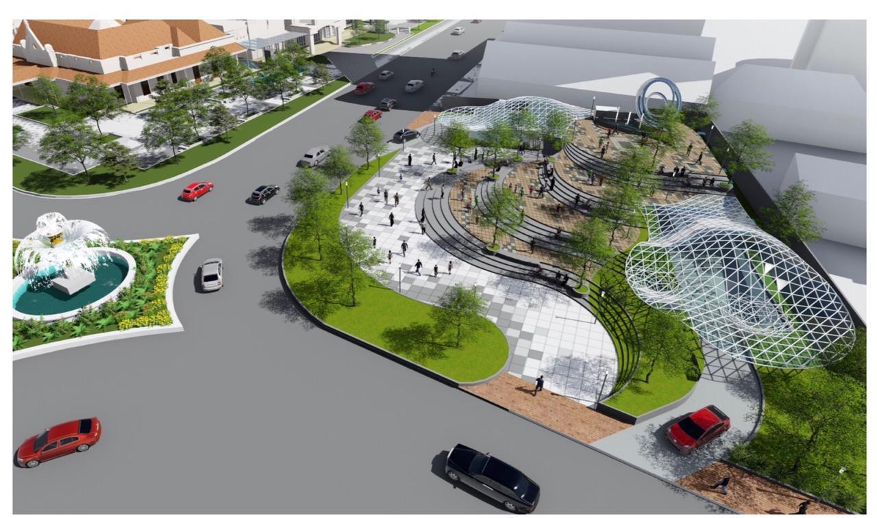 Pembangunan Alun-alun Surabaya Tunggu Tuntasnya Sengketa Lahan