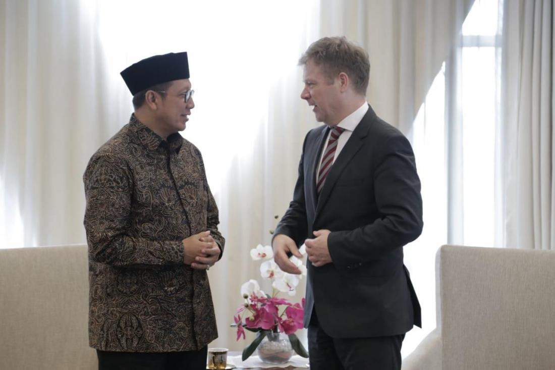Indonesia-Denmark Jajaki Kerja Sama Bidang Keagamaan