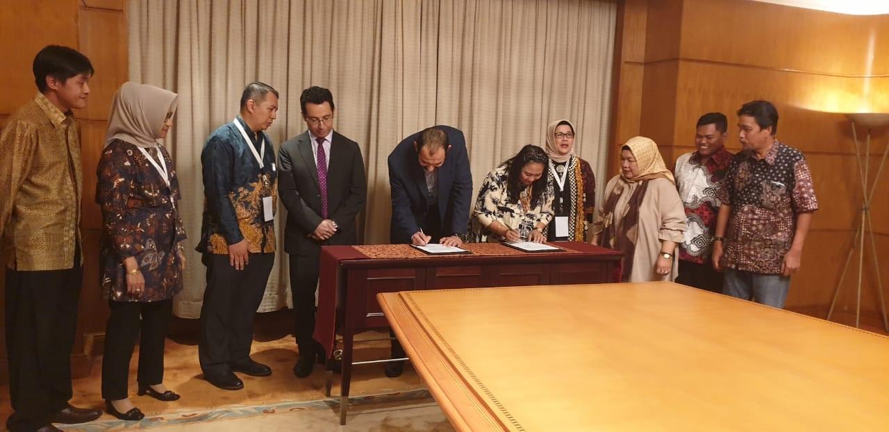 Indonesia Bukukan Kontrak Dagang dengan Mesir USD 130 Juta