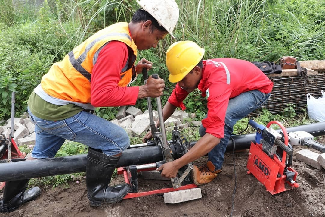 PDAM Surabaya Targetkan Air Siap Minum Bulan Mei