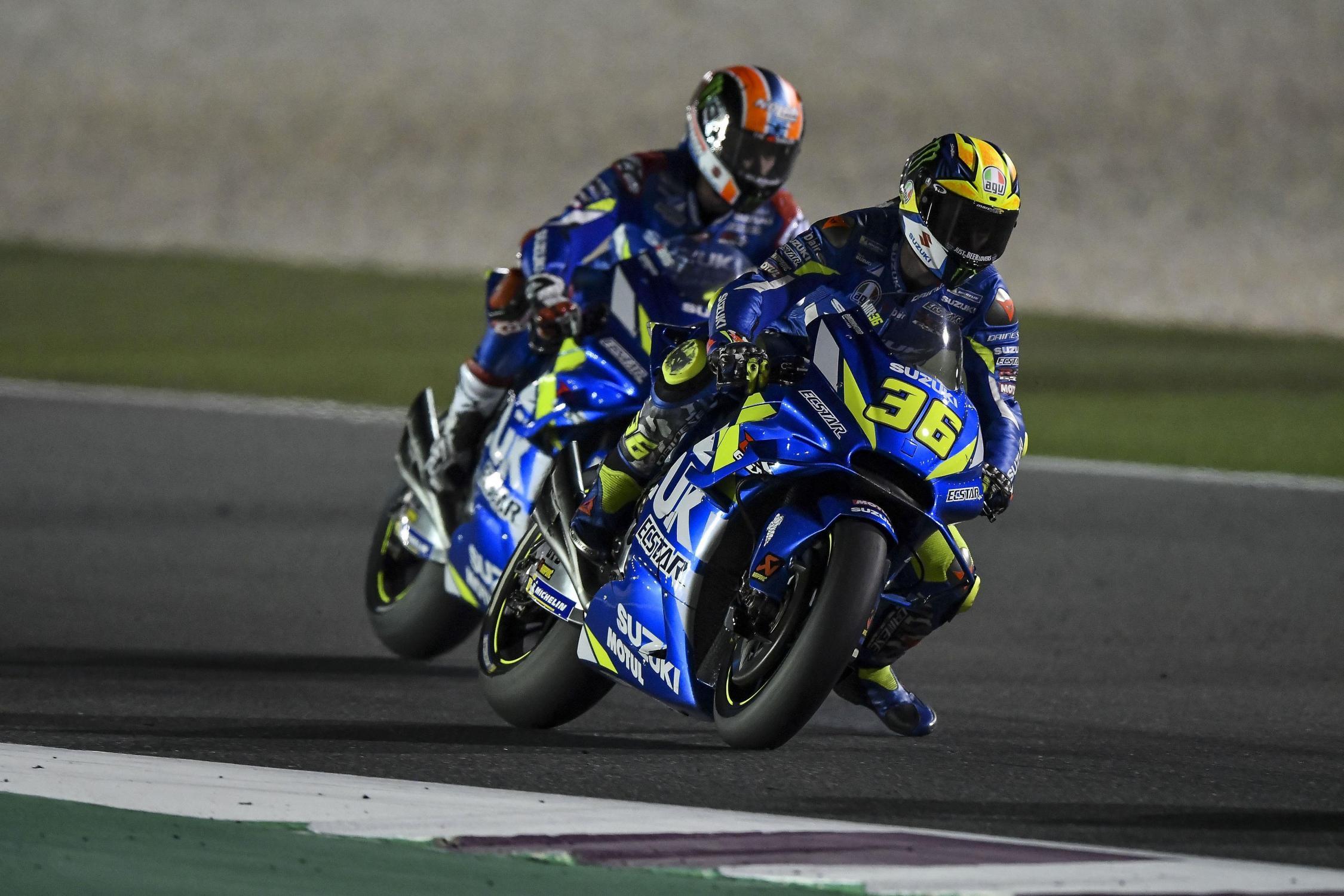 Rossi Percaya Perkembangan Suzuki Bisa Lebih Baik