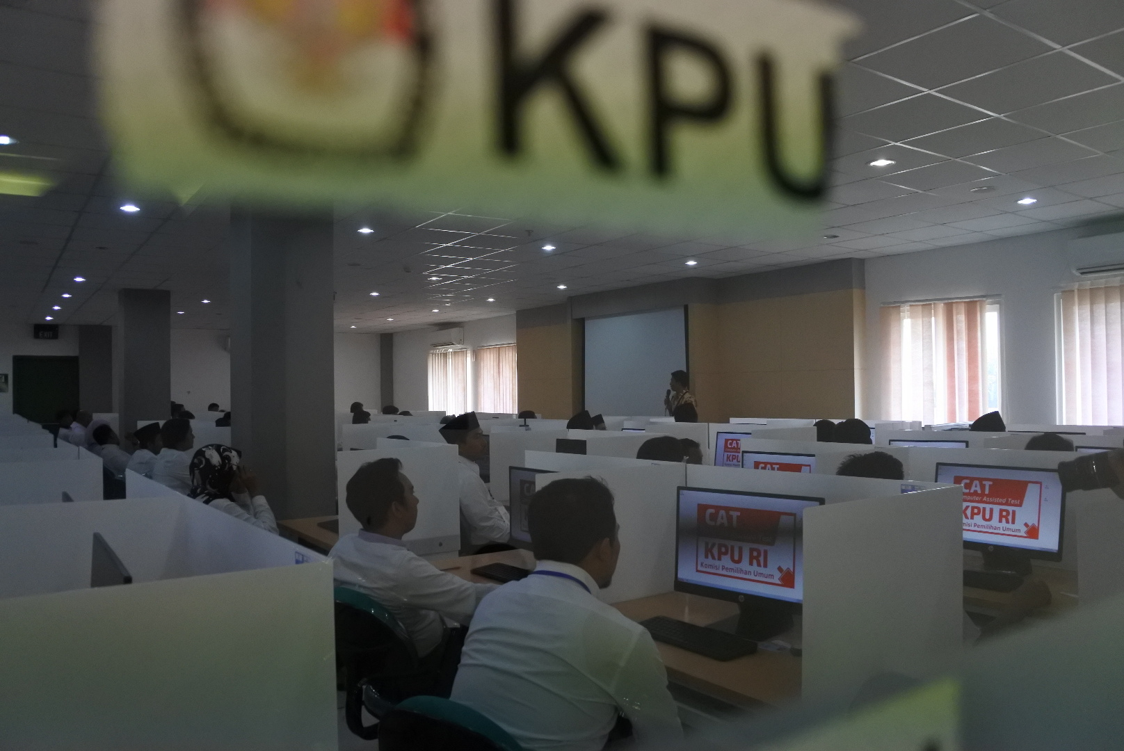 Pantau Tes Calon Komisioner KPU Jatim, Arief Budiman Terkejut
